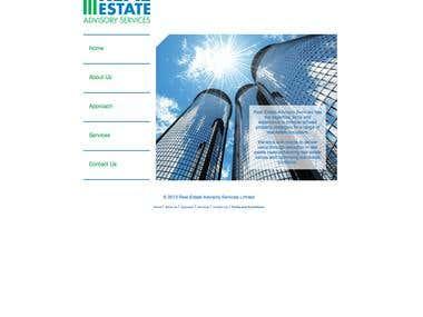 Real Estate Advisory Services website