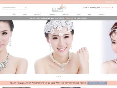Accessory Shopping Website