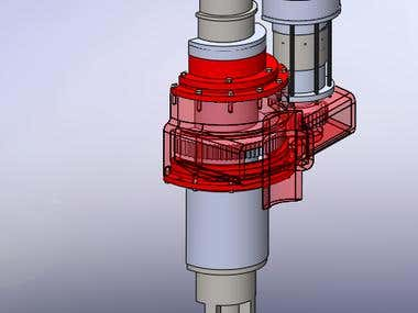 Hydraulic Rotor for drilling.