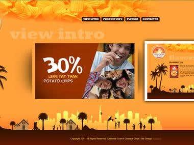 California Crunch Website