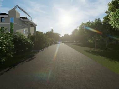 3D Animation Walkthrough