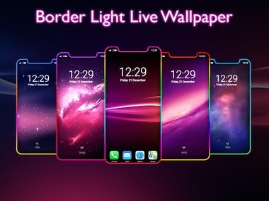 Border Light Live Wallpaper - LED Color Edge