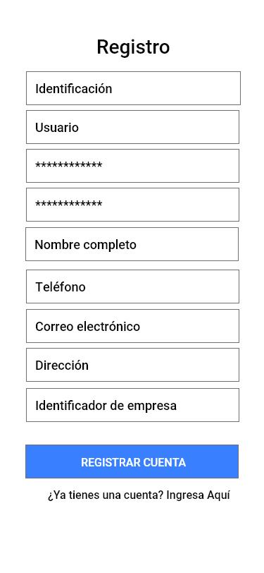 UI/UX Propuesta App de Seguridad