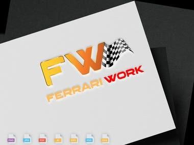 Ferrari Work Logo