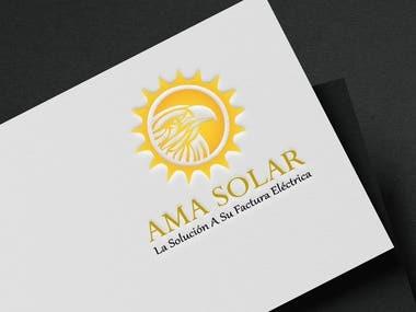 AMA SOLAR Logo