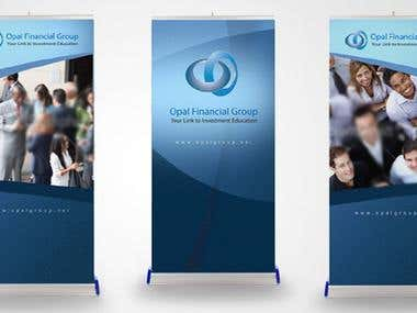 Opal Group Rollup Banners