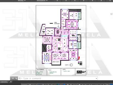 Architectural 2d drawings