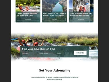 UI / UX of website Design.