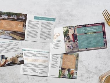 Booklet & Brochure designs