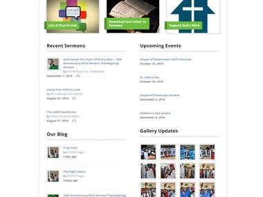 Chapel Website