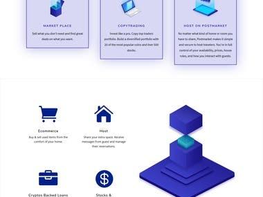 DIVI Homepage Design