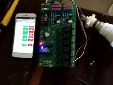 ESP8266 based home automation