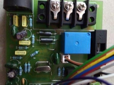 ADE7763 single phase power meter