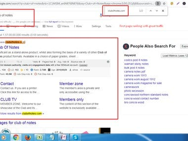 Get 1st page ranking with white hat SEO