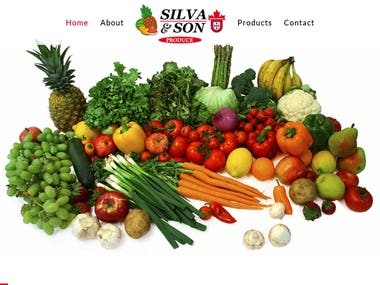 Produce Importer Website