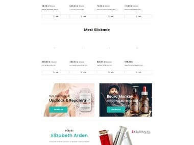 Parfymonline website