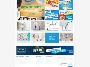 Mica lighting website