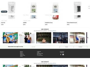 Lush Protein Website