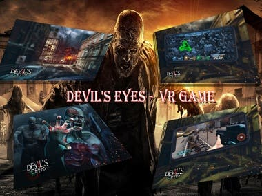 DEVIL'S EYES - Zombi Shooting Game
