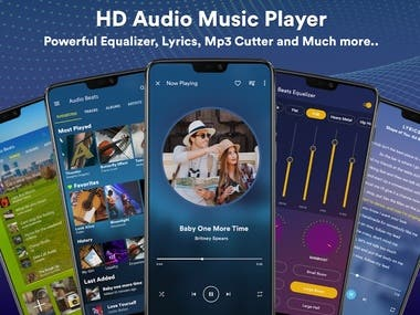 Music Player - MP3 Player - Android App