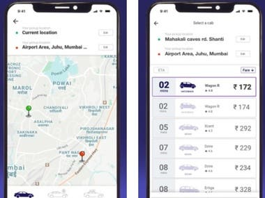 Meru Cabs-Local and Outstation - iOS App Development