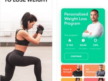 Fitness Workout by GetFit - iOS App