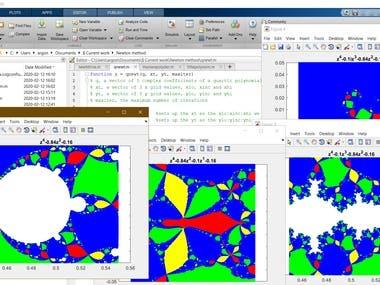 Matlab: Newton Fractals