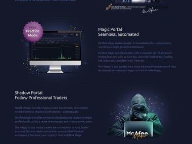 McAfee Magic Crypto Portal
