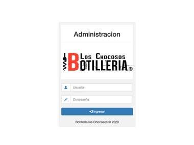 Reestructuracion de estilos a web Botilleria los Chocosos