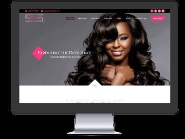 Strictly Styles Salon - Website Development