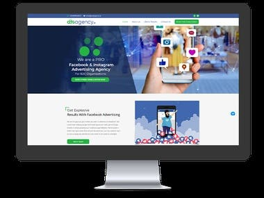 Facebook Advertising Agency - Website Development