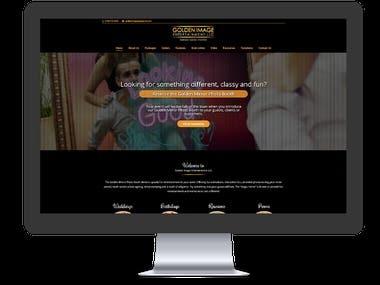 Golden Image Entertainment - Website Development
