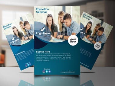 Flyer, Poster and Leaflet Design