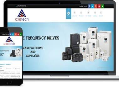 Axetech Website