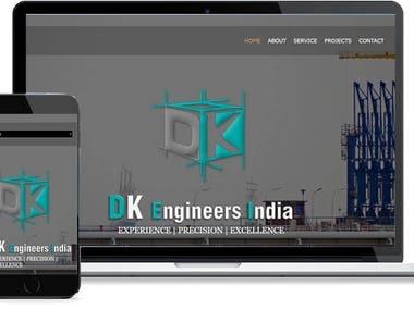 DK Engineer India Website