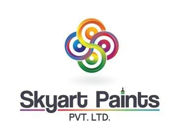 Logo Design for Skyart Paint PVT. LTD.
