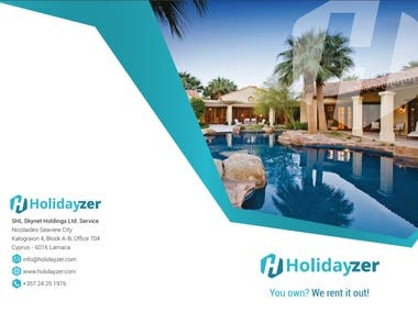 Brochure Design for Holidayzer