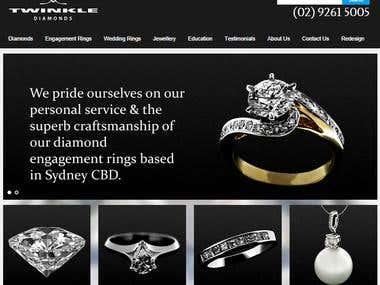 Twinkle Diamonds: Online Jewlery Shop