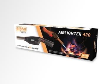 Retail box Bison Airlighter 420