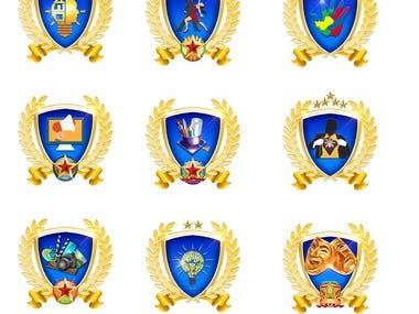 Badges Grpahics