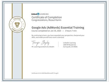 Google Ads (Adwords) Certificate