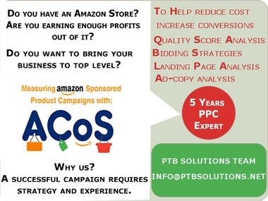 5 Years Amazon Google Ads PPC Expert