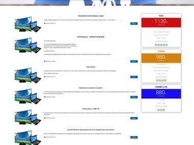 Ecommerce Web App