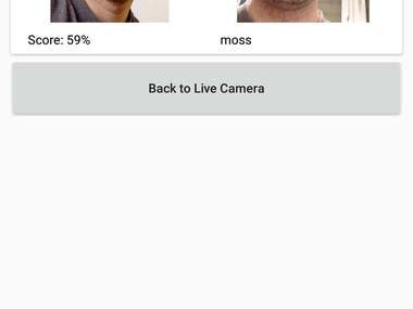 Face Recognition Android APP