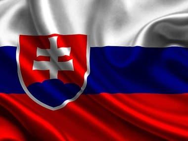 SLOVAK/SLOVAKIAN TRANSLATION