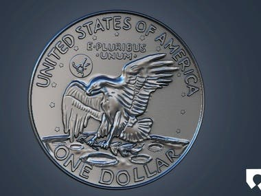 3D coins for 3d printing