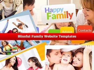 Family website design