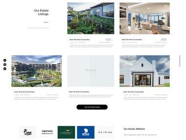 Estate Living website