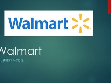 Business Report on Walmart