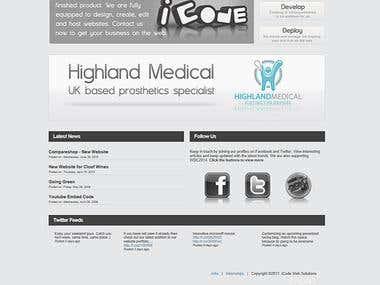 iCode Website